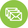 You can choose a message for a mock attack email from a wide variety of templates.